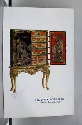 Scenic Queens Doll House Postcard Old Vintage Card View Standard Souvenir Postal