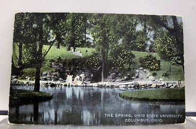 Ohio OH State University Columbus Postcard Old Vintage Card View Standard Post