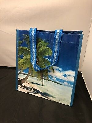 NEW Norwegian Cruise Line NCL Blue Lagoon Reusable Recyclable Small Tote Bag