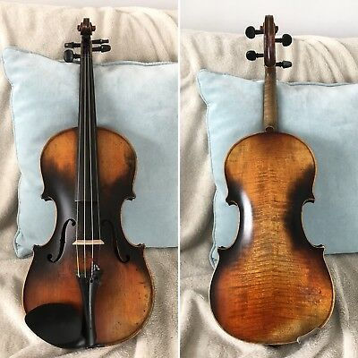 "An Old German Violin C.1900 - ""Labelled Michele Deconet..."""
