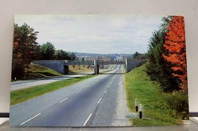 Scenic Modern Super Highway Postcard Old Vintage Card View Standard Souvenir PC