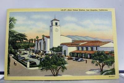 California CA Union Station Los Angeles Postcard Old Vintage Card View Standard