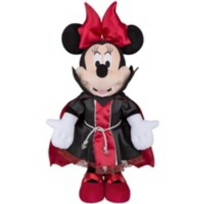 "New Disney Halloween 25"" Minnie Mouse Red & Black Vampire Porch Greeter"