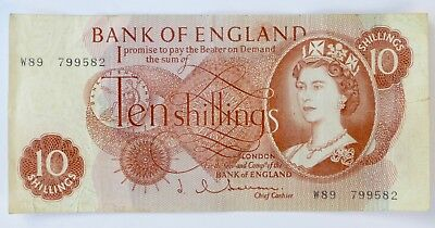 Bank Of England 10 Shilling Note