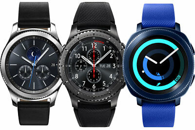 Samsung Gear S3 frontier Classic 46mm Sport Hybrid GPS Activity Android Watch