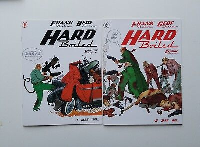 Frank Miller's Hard Boiled issues #1-2 Awesome NM- Avg Condition!!