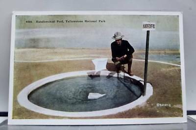 Yellowstone Park Handkerchief Pool Postcard Old Vintage Card View Standard Post