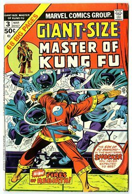 Giant-Size Master of Kung-Fu #3 FN/VF 7.0  Marvel  1975  No Reserve