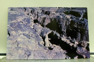 Idaho ID Craters of Moon Monument Devils Sewer Postcard Old Vintage Card View PC