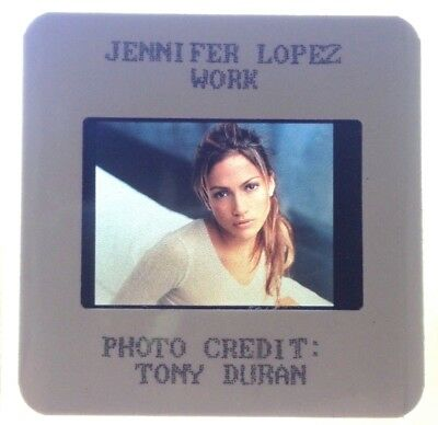 Jennifer Lopez 35mm Photo Slide