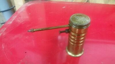 Vintage made in usa eagle no 66 oil can oiler pump