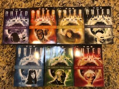 The Outer Limits Complete Seasons 1-7 series DVD Set