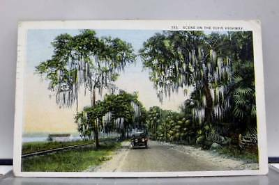 Scenic Dixie Highway Postcard Old Vintage Card View Standard Souvenir Postal PC
