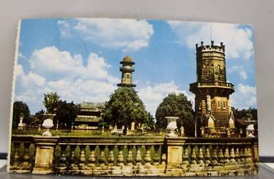 Scenic Bangpa Summer Palace Postcard Old Vintage Card View Standard Souvenir PC