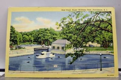 Rhode Island RI Roger Williams Park Providence Postcard Old Vintage Card View PC