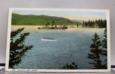 Idaho ID Payette Lake Postcard Old Vintage Card View Standard Souvenir Postal PC