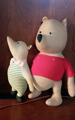 Original Pooh and Piglet from the 1940's by Agnes Brush