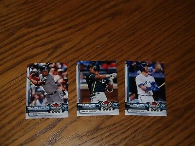 LOT OF 3~2018 Allen & Ginter Topps Home Run Challenge Unused Cards~STANTON