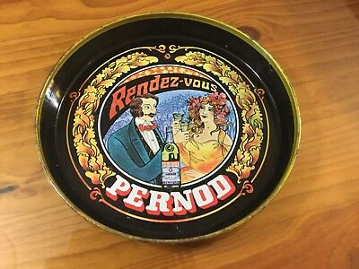 Collectable ( Rare ) Pernod Drinks Tray ( Metal )