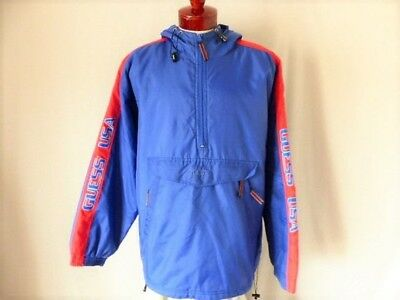 RARE Vintage 90s Guess Jeans x Sean Wotherspoon Farmers Market Windbreaker 278ea52e81515