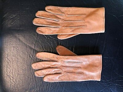 "Vintage Pair of Child's Leather Gloves - 5-1/2"" - PERRIN - Wonderful! RARE"