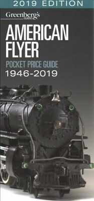 American Flyer Pocket Price Guide 1946-2019 Greenberg's Guide 9781627005319