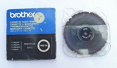 Brother Cassette Daisy Wheel Prestige 1012 402-14 (English Version)