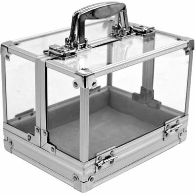 Trademark 600-Piece Clear Acrylic Case - Holds 6 Chip Trays Poker Chip Case (Cle