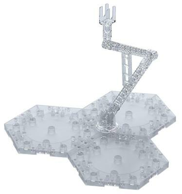 BANDAI ACTION BASE 4 CLEAR Model Kit Display Stand NEW from Japan