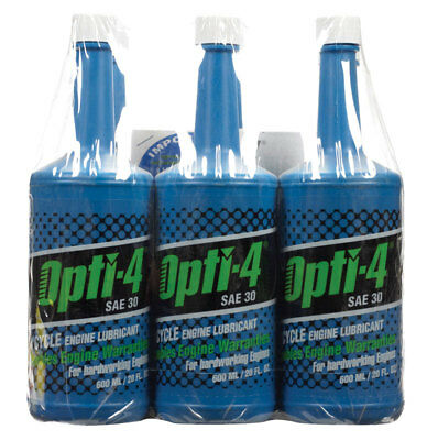 [Case of 4 packs] Opti-4 30 4 Cycle Engine Motor Oil 20 oz. (6 per pack)