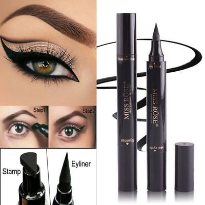 Waterproof Beauty Makeup Cosmetic Eye Liner Pencil Black Liquid Eyeliner Pen