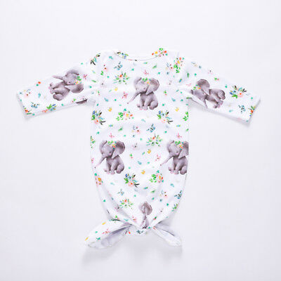 US Cute Floral Newborn Baby Girl Blanket Sleeping Bag Swaddle Wrap Casual Outfit
