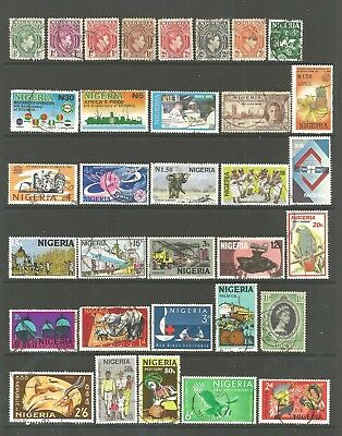Nigeria  used stamps