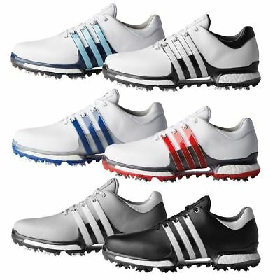 50% OFF adidas GOLF 2018 TOUR360 2.0 BOOST LEATHER GOLF SHOES - WIDE FITTING