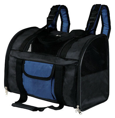 Connor Rucksack Backpack Travel 2 in 1 Carrier Pet Bag For Cats Dogs 2882 Blue