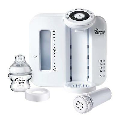 Baby Feeding Complete Prep Machine Tommee Tippee Perfect Prep White Hygienic New