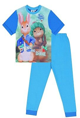 Boys Peter Rabbit Strong and Bold Pyjamas Beatrix Potter Sleepwear 2 to 7 Years