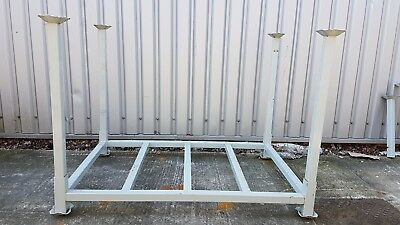 Large Metal Steel Stillage Post Pallet Stackable Heavy Duty (VAT Included)