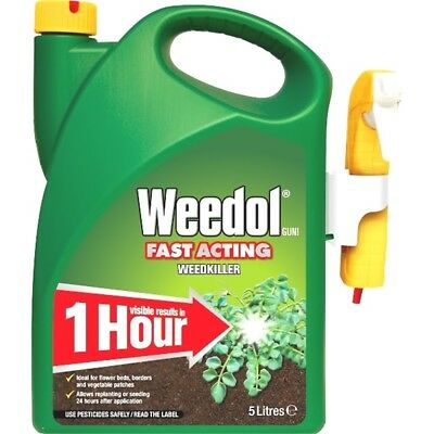 Weedol Fast Acting Weedkiller, 5l