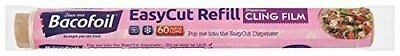 Bacofoil Baco Easycut Cling Film Refill 350mm x 60mtr (Pack of 6)