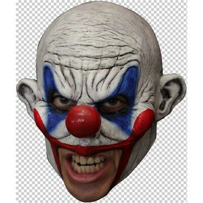Mask Head Chin Strap Clown Clooney - Halloween Masks Chin Open Mouth Wear Scary
