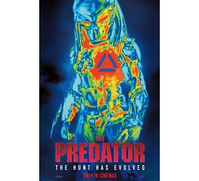 The Predator | original DS one sheet movie poster 27x40 INTL | Alien AVP MINT B