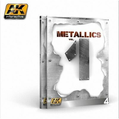 Ak Interactive Book - Ak Learning 4 Metallics Vol 1 # 507