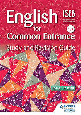 English for Common Entrance Study and Revision Guide, Kornel Kossuth