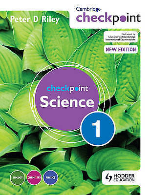 Cambridge Checkpoint Science: Student's Book Bk. 1, Peter Riley