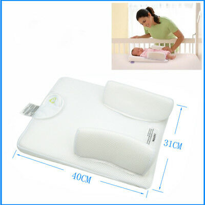 Infant Newborn Crib Wedge Positioner Anti Baby Spit Milk Fixed Cushion New