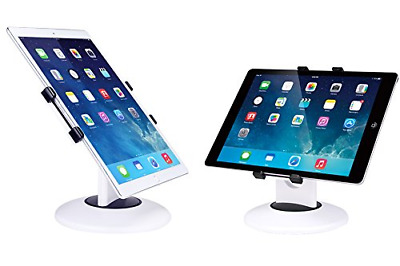 Business Retail Tablet Stand 360° Rotation Mount Holder for Most 7.9-13'' White