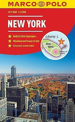New York Marco Polo City Map 2018 - pocket size, easy fold, New York street map,