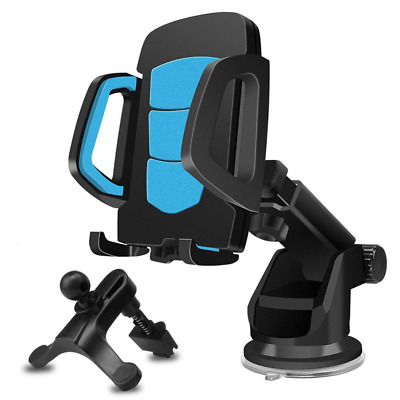 Phone Holder for Car, Windshield/Dashboard/Air Vent 360 Degree Rotation Mount US