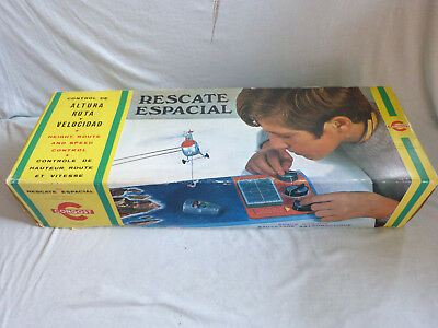 Congost Rescate Espacial Space Rescue 60s Vintage Space Tin Toy Made in Spain